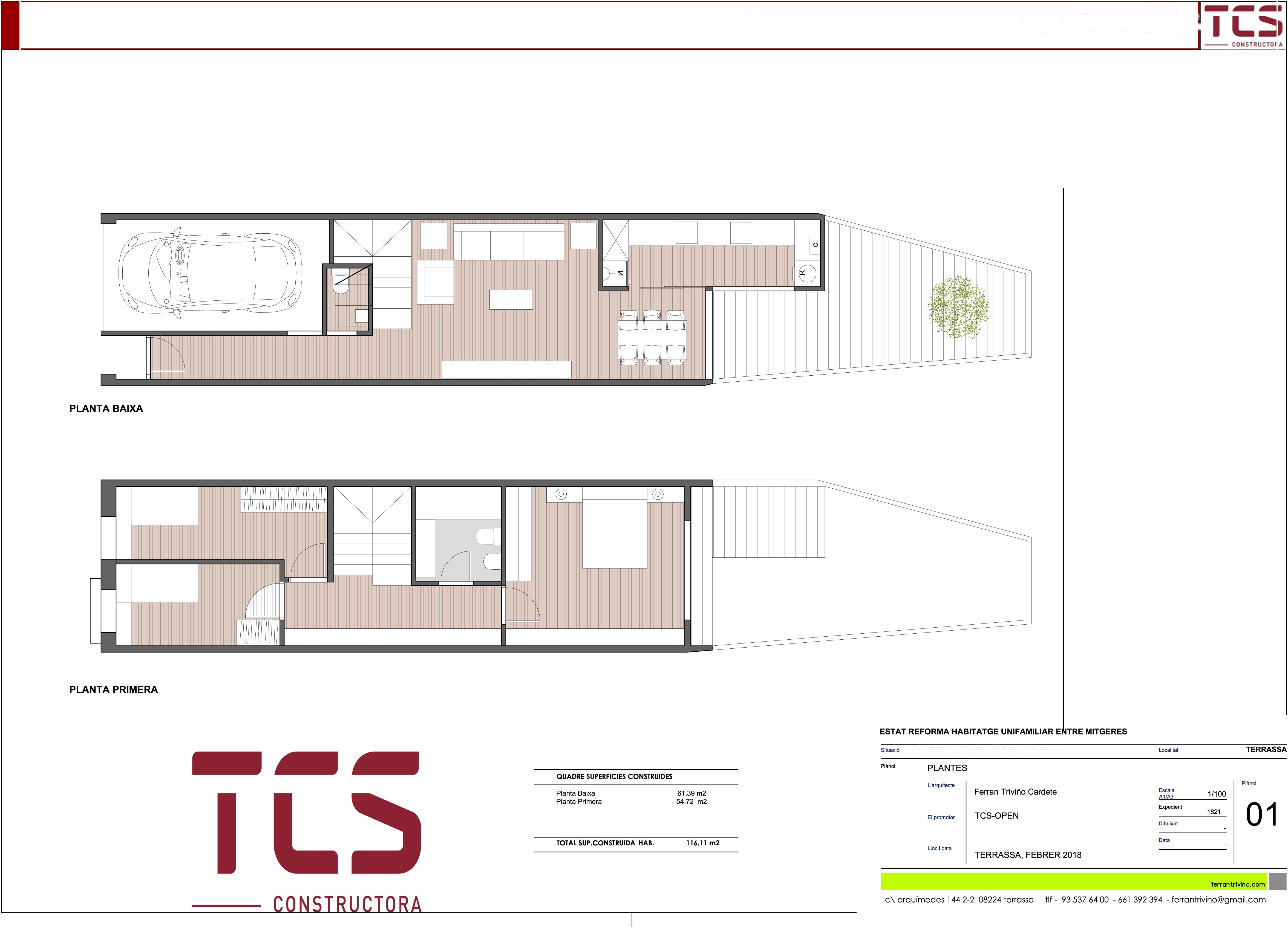 Casa obra nueva en centro terrassa finques opengesfinver - Obra nueva en terrassa ...